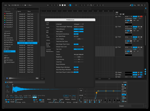 ExtraDark Theme for Ableton 10 by Erick