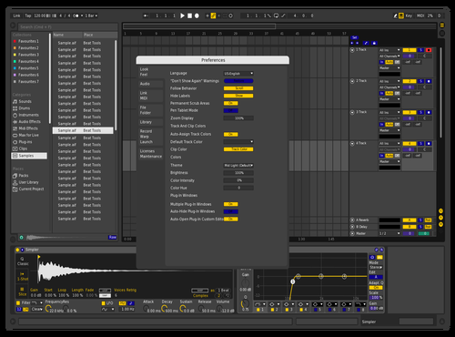 Adam's theme Theme for Ableton 10 by Görzsöny Ádám