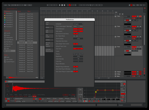 Final Reddit Theme for Ableton 10 by Ken
