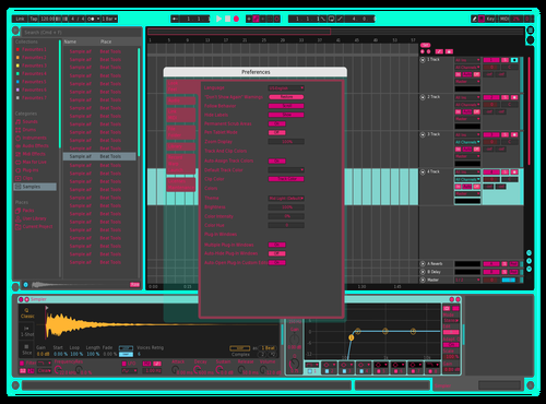 WIP1 Theme for Ableton 10 by Digi