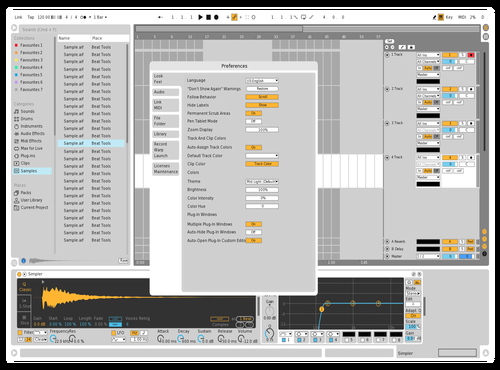 CleanMirrorScreenshot_abletonthemes Theme for Ableton 10 by Kyle Grimsrud-Manz