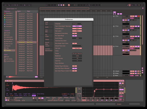 Frutos Rojos Mix Theme for Ableton 10 by chris