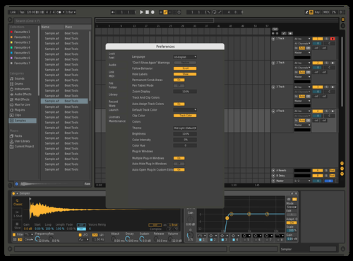 Girb test Theme for Ableton 10 by Eivind Sommersten