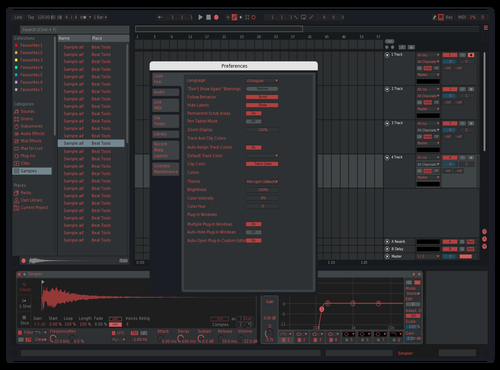 This one theme I found but with better text lol Theme for Ableton 10 by EVVDE
