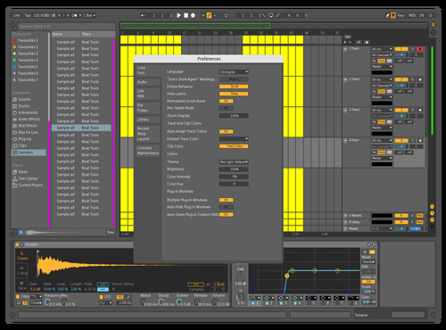 Search Theme for Ableton 10 by Maxime Morin