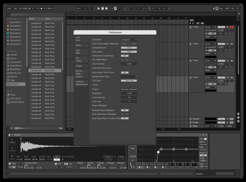 Newspaper Theme for Ableton 10 by noisemaker