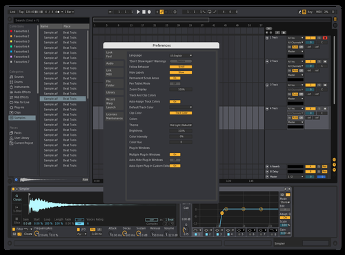 DarkDefNew20 Theme for Ableton 10 by david