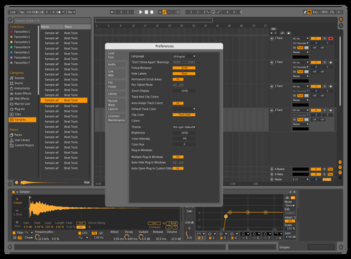 Bom Theme for Ableton 10