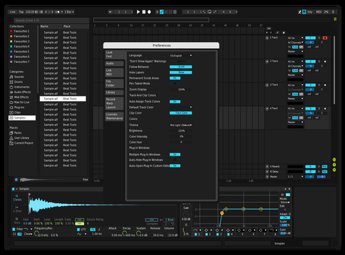 VR Dark Theme for Ableton 10 by Luk3Music