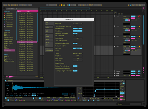 Pink Stink Theme for Ableton 10 by Sypex