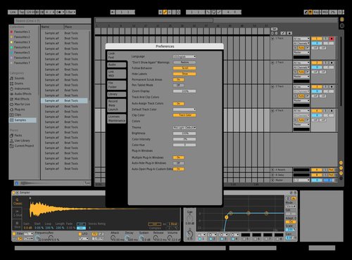 Basic edit Theme for Ableton 10 by Em