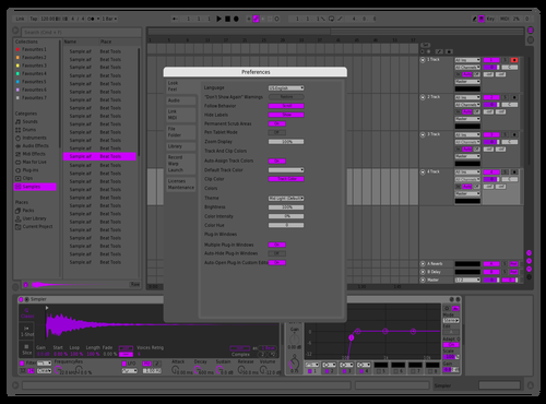 Space Grey Toby Theme for Ableton 10 by yoo