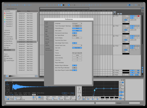 I dont know what things are called to colour them corecctly WIP Theme for Ableton 10 by Srecko