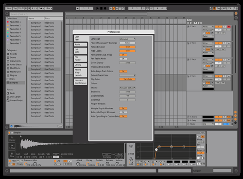 X Mod Theme for Ableton 10 by Alex