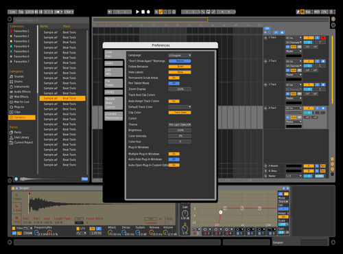 Uno modified Theme for Ableton 10 by IDGI
