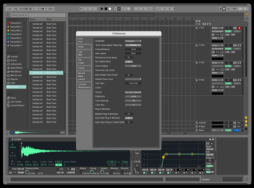 Mint Theme for Ableton 10 by augusto