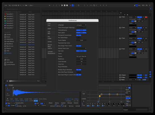 ModernY Theme for Ableton 10 by Jovaan