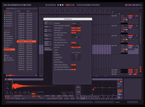 CLEAR FIRE Theme for Ableton 10 by arson