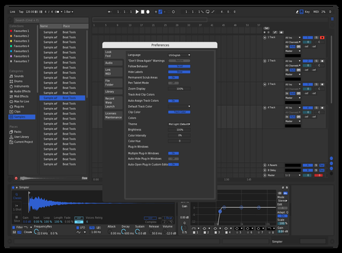 RedDarkGray Theme for Ableton 10 by Jorge Garcia