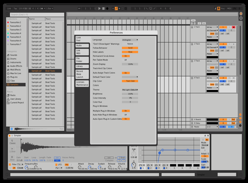 MASSIVE X MODIFIED Theme for Ableton 10 by ineptvirus
