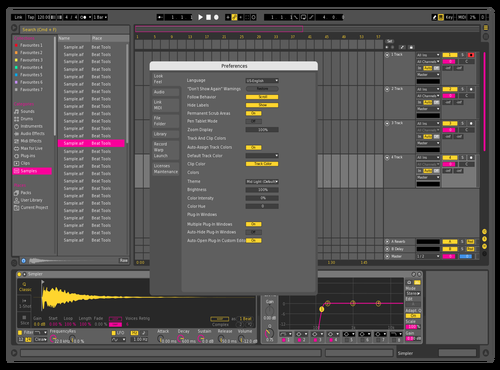 Wolley Knip Theme for Ableton 10 by docmastaba