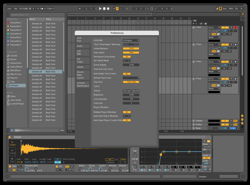 Mid Dark Reference Theme for Ableton 10 by Flavio Gaete