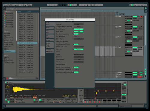 Luh Theme for Ableton 10 by Maxine
