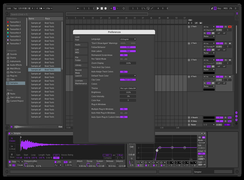 Brdr4 Theme for Ableton 10 by beeforan