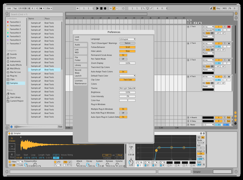 TEST Theme for Ableton 10 by KHALILSABHA