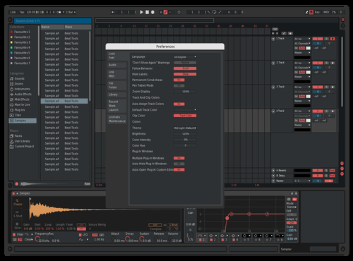 Test geotik Theme for Ableton 10 by geotik