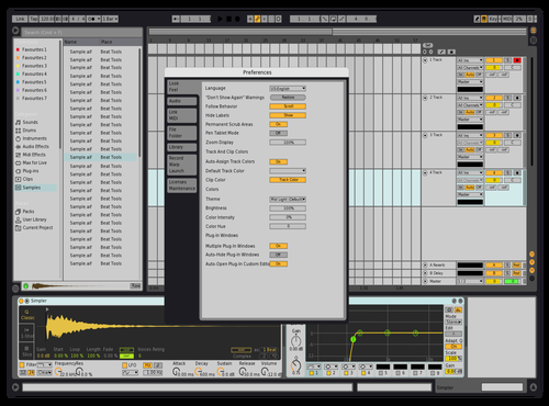 MikeXWLBOYs Custom Theme Theme for Ableton 10 by **** stew