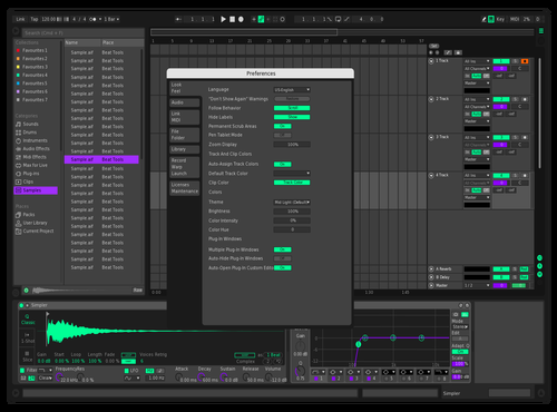 N30N Theme for Ableton 10 by Renaud Giuliano