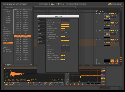 Dark-Orange Theme for Ableton 10 by pussydestory69