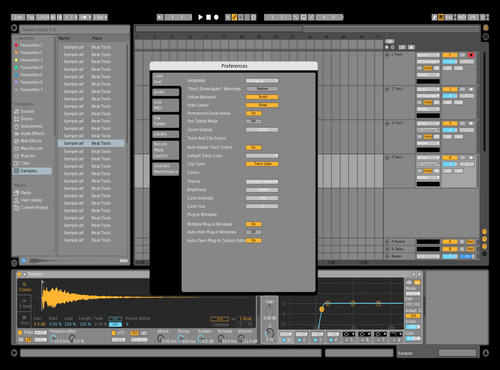 Ryul Edit Theme for Ableton 10 by rahul chow