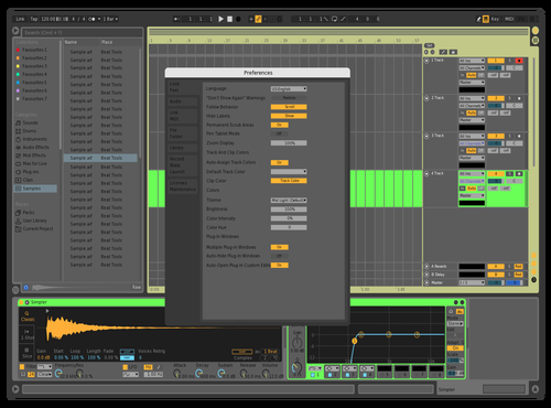 Selected Theme for Ableton 10 by GreyFortress