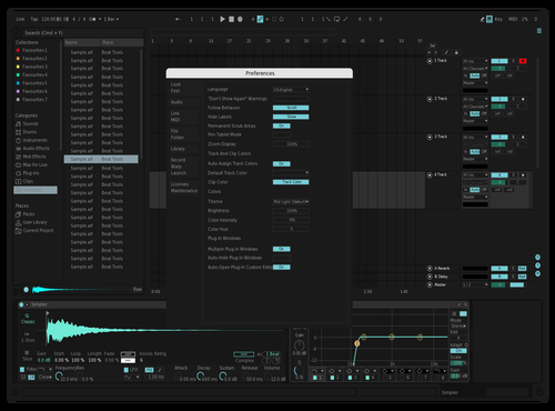 DARK ASTRAL Theme for Ableton 10 by Cedric Swan