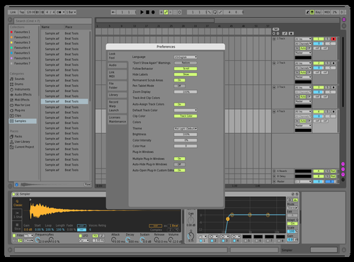 Ableton Light Greyish Theme for Ableton 10 by Dean