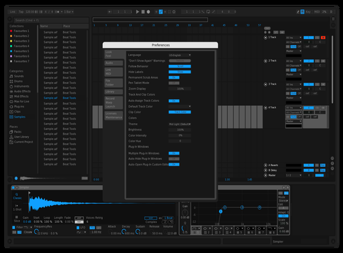 MISSION CONTROL 2.0 Theme for Ableton 10 by james