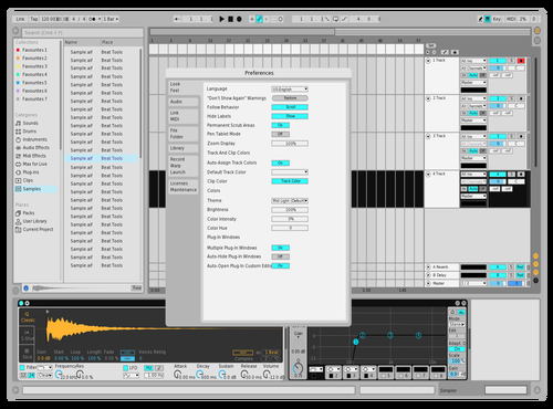 APPLE Theme for Ableton 10 by KHALILSABHA