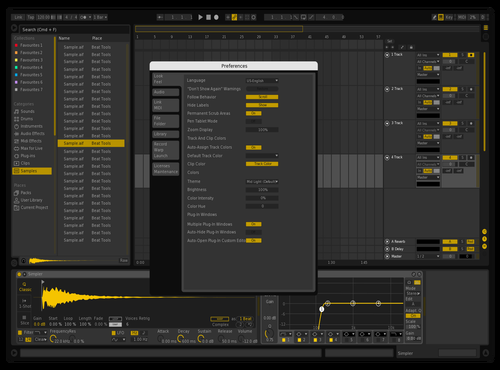 WLFJCE DARK Theme for Ableton 10 by Wolfjuice