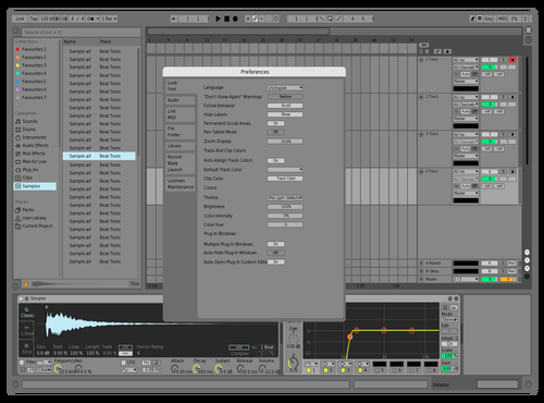 Clean UI Theme for Ableton 10 by Aleksander