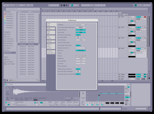 Crema Theme for Ableton 10 by Geinner