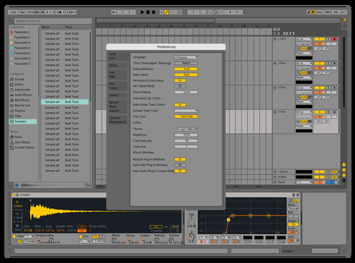 Live 9 - Light Edits Theme for Ableton 10 by Scotch Daily