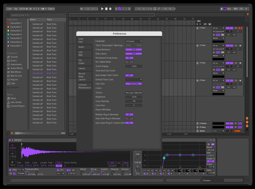 Aesthetic Theme for Ableton 10 by nite