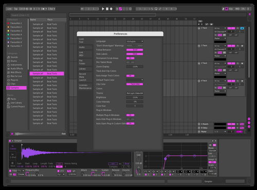 PINK 4 Theme for Ableton 10 by Pablo