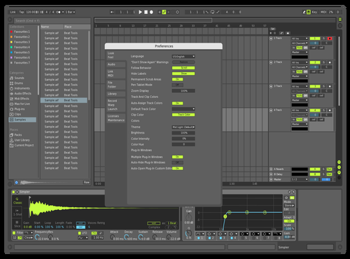 Only color change Theme for Ableton 10 by DRstelth
