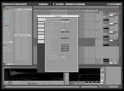 Gameboyclassic_red19_remixed Theme for Ableton 10 by RED19