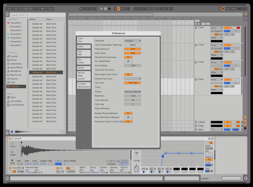 Massive X Solid Theme for Ableton 10 by Hypnox77