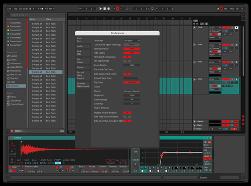 DOPESKIN Theme for Ableton 10 by Marcus