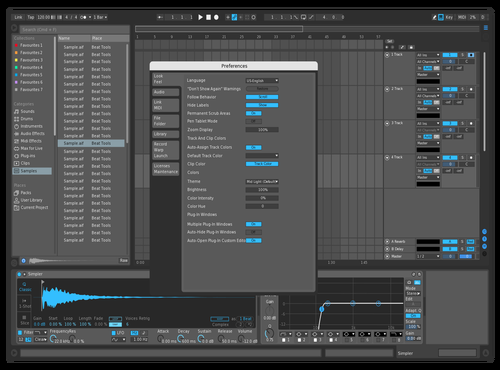 Darblue Theme for Ableton 10 by Aleix Canals Martín